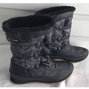 Keds powder puff boots